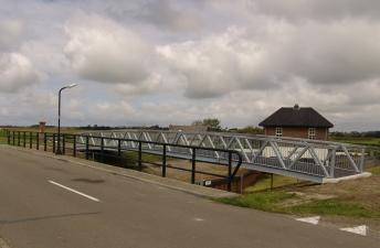 brug Oude Schild Texel